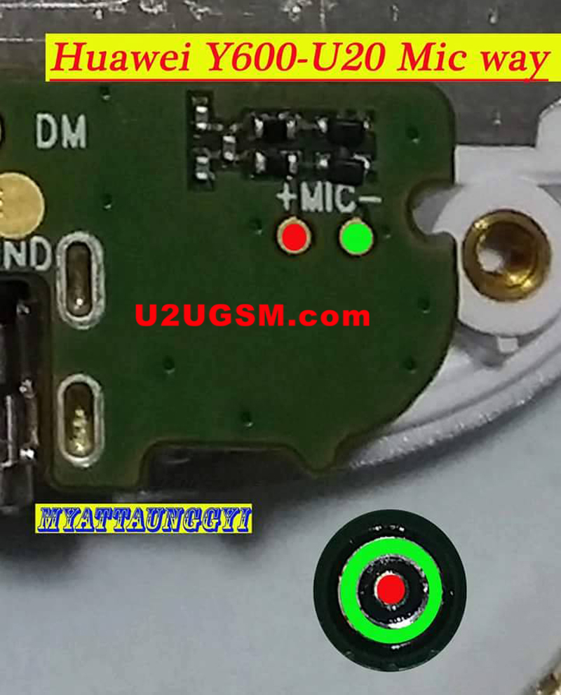 Huawei Ascend Y600 Mic Problem Solution Microphone Not Working