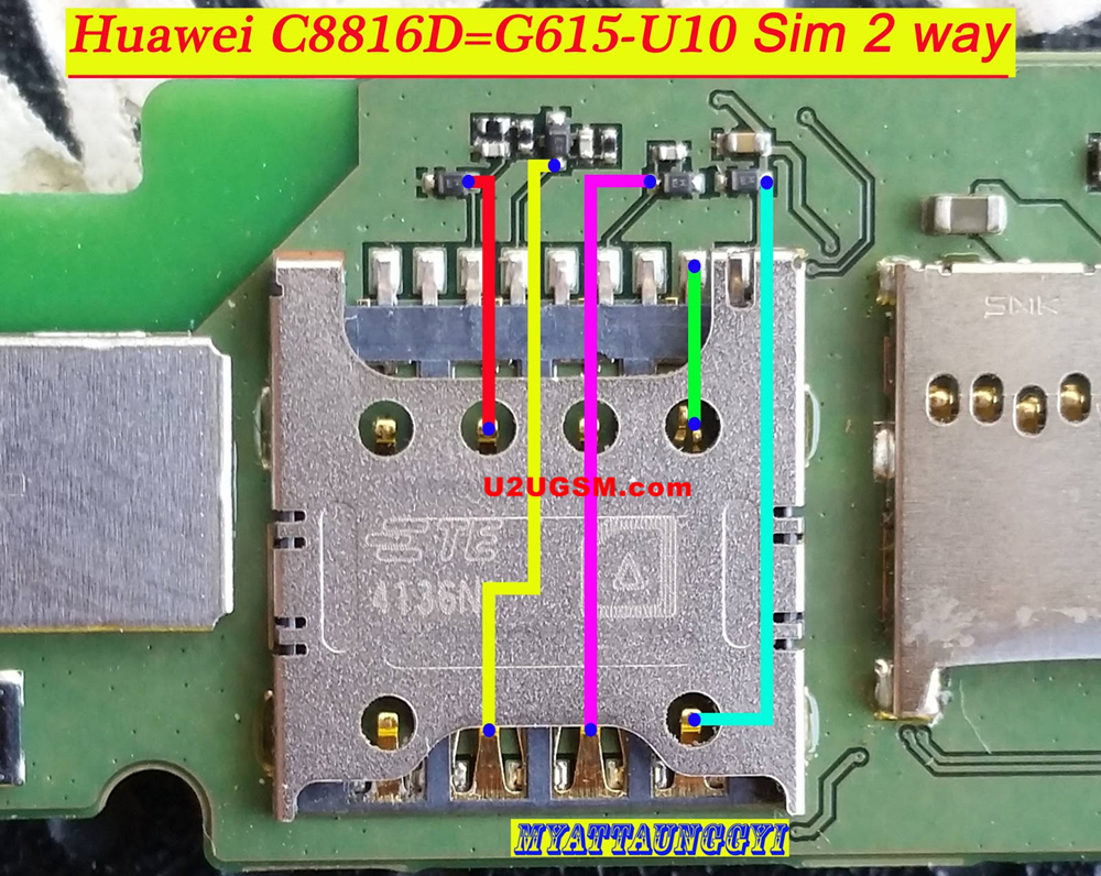 Huawei C8816D Insert Sim Card Problem Solution Jumper Ways