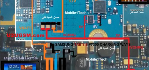 Samsung Galaxy Tab 8.9 P7300 Charging Solution Jumper Problem Ways