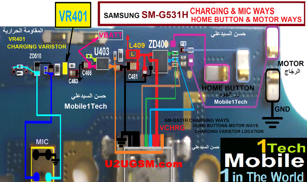 Samsung Galaxy Grand Prime G531 Charging Solution Jumper Problem Ways