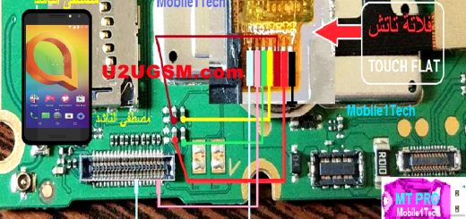 Alcatel A3 5046U touch screen not working problem solution jumpers