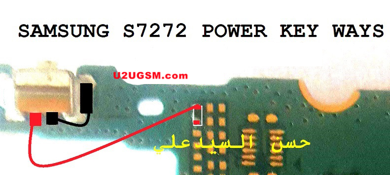 Samsung Galaxy Ace 3 Power On Off Key Button Switch Jumper Ways