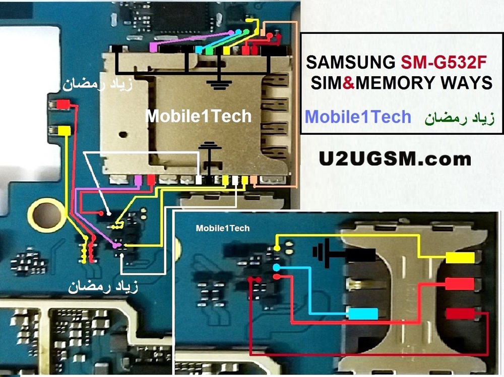 Samsung Galaxy Grand Prime Plus G532F Insert Sim Card Problem Solution Jumper Ways