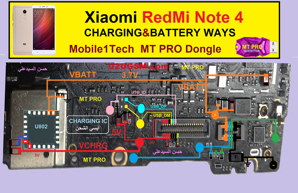 Xiaomi Redmi Note 4 Charging Solution Jumper Problem Ways on Ways To Save Water