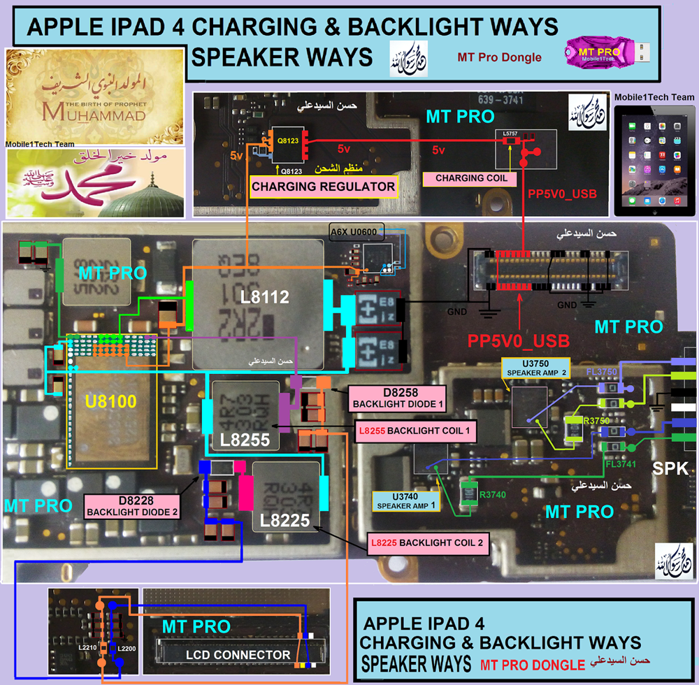 Apple iPad 4 Display Light Solution