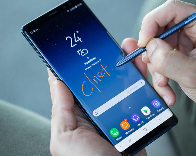 Samsung Galaxy Note 8 Restore Factory Hard Reset Remove Pattern Lock