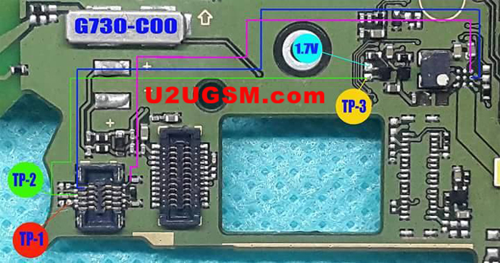 Huawei Ascend G730 touch screen not working problem solution jumpers