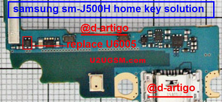 Samsung Galaxy A5 A500H Home Key Button Not Working Problem Solution