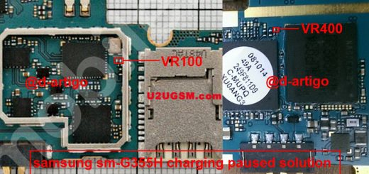 Samsung Galaxy Core II G355 Charging Paused Solution Jumpers