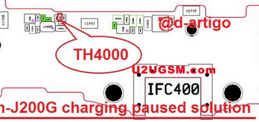 Samsung Galaxy J2 2017 J200G Charging Paused Solution Jumpers