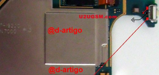 Samsung Galaxy Note N7000 Power Button Solution Jumper Ways
