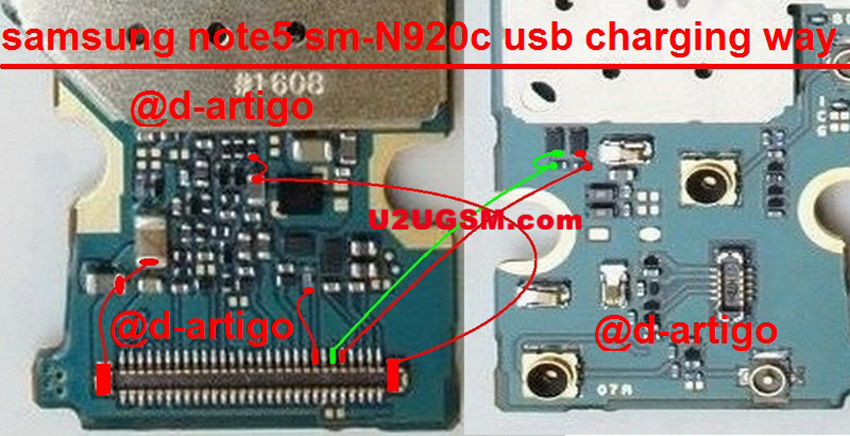 Samsung Galaxy Note5 Charging Problem Solution Jumper Ways No Charging
