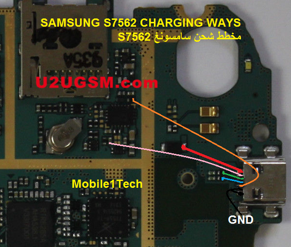 Samsung Galaxy S Duos S7562 Usb Charging Problem Solution Jumper Ways