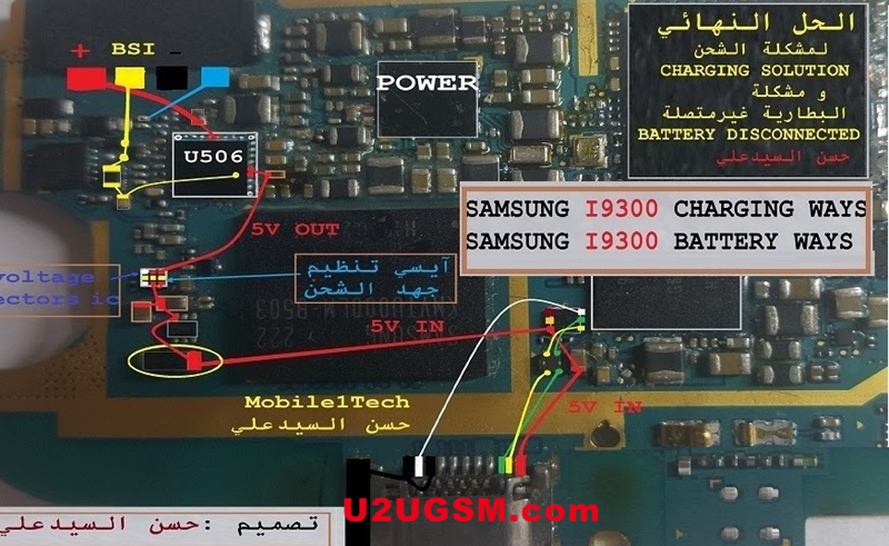 Samsung Galaxy S3 I9300 Charging Solution Jumper Problem Ways