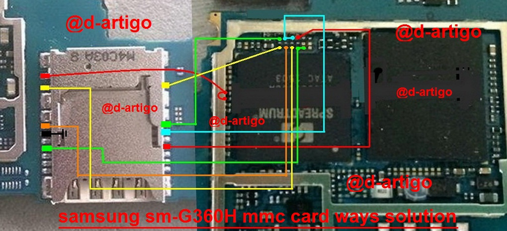 samsung galaxy core prime memory card slot problem solution