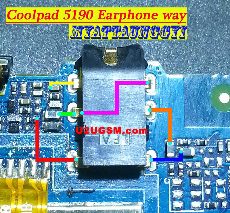 Coolpad 5190 Hands Free Jumper Solution Headphone Jack Ways