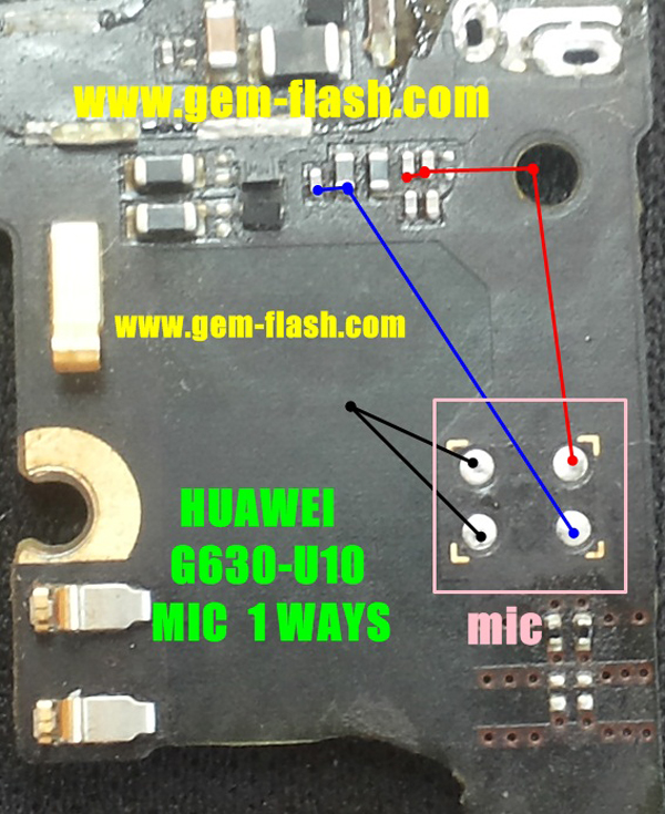 Huawei G630-U10 Mic Problem Jumper Solution Ways Microphone Not Working