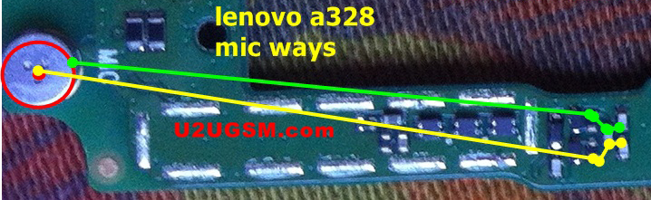 Lenovo A328 Mic Problem Solution Microphone Not Working  Jumpers Ways