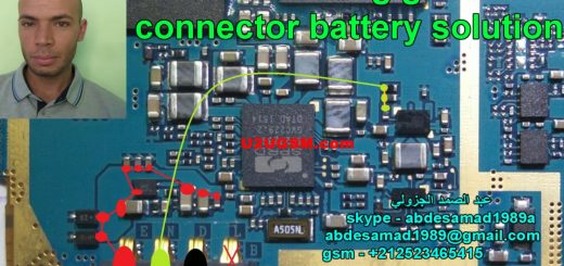 Samsung Galaxy S Duos 3 G316 Battery Connector Terminal Jumper Ways