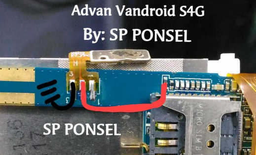 Harga Advan Vandroid S4G Power Button Solution Jumper Ways