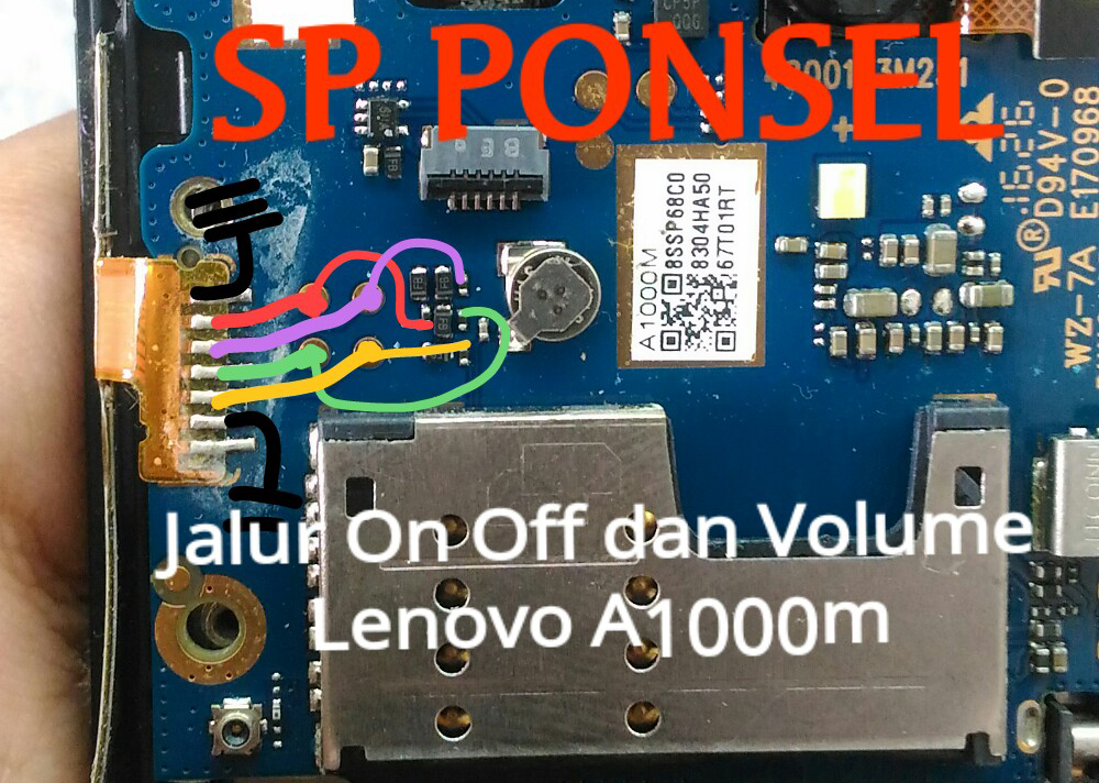 Lenovo A1000m Power Button Solution Jumper Ways