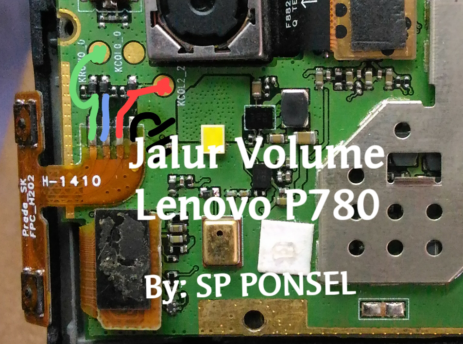 Lenovo P780 Volume Up Down Keys Not Working Problem Solution Jumpers