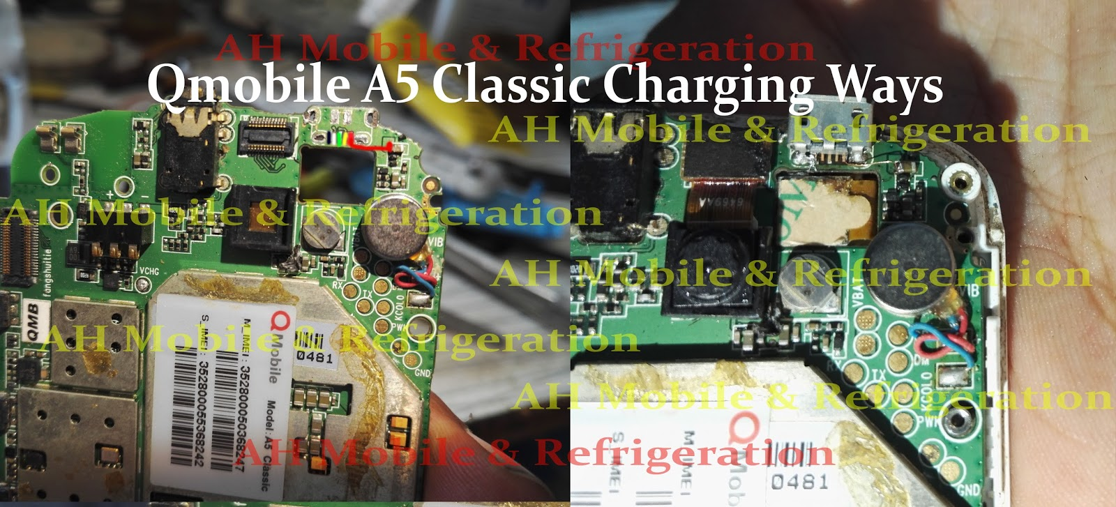 QMobile A5 Classic Charging Solution Jumper Problem Ways