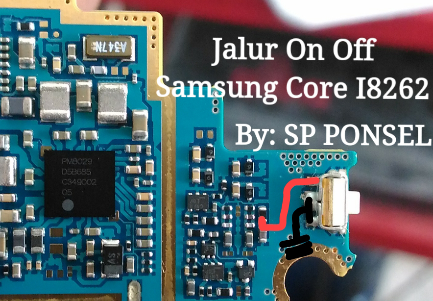 Samsung Galaxy Core I8260 Power Button Solution Jumper Ways