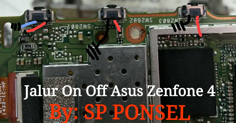 Asus Zenfone 4 ZE554KL Volume Up Down Keys Not Working Problem Solution Jumpers