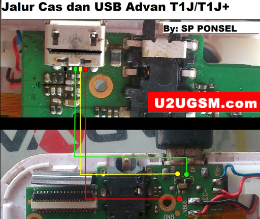 Harga Advan Vandroid T1J Usb Charging Problem Solution Jumper Ways