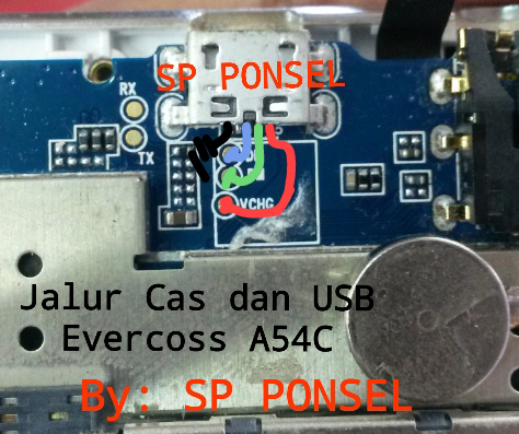 Harga Evercoss A54C Charging Solution Jumper Problem Ways