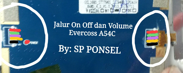 Harga Evercoss A54C Volume Up Down Keys Not Working Problem Solution Jumpers
