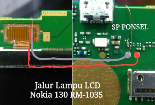 nokia 130 light problem solution