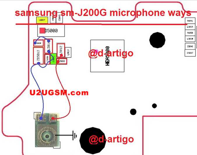 Samsung Galaxy J2 J200G Mic Problem Jumper Solution Ways Microphone Not Working