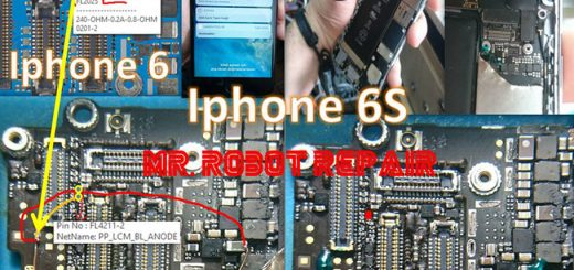 iPhone 6S Display Light Solution LCD Jumper Problem Ways
