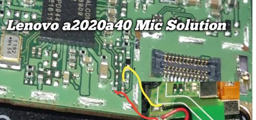 Lenovo Vibe C A202 Mic Problem Solution Microphone Not Working Jumpers Ways