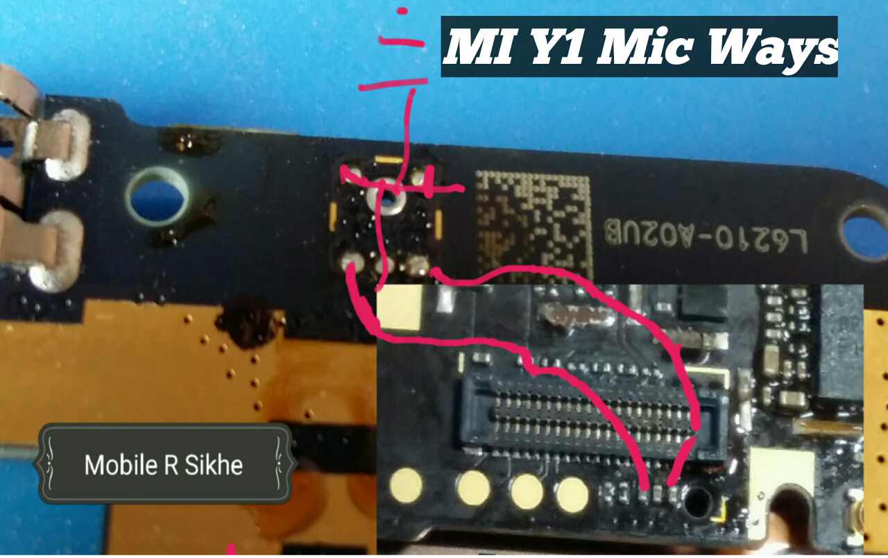 Xiaomi M1  Mic Problem Solution Microphone Not Working  Jumpers Ways