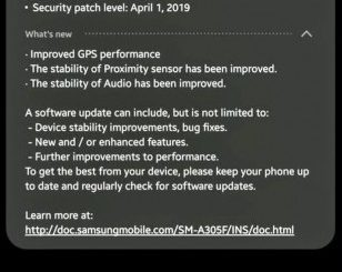 Samsung Galaxy A30 Latest Update Improves GPS Performance