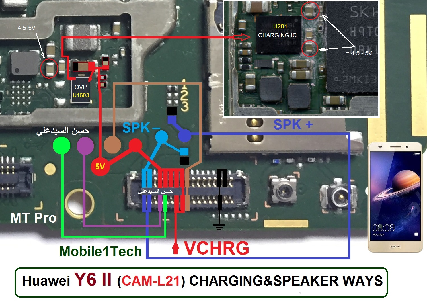 Huawei Y6 Ii Charging Solution Jumper Problem Ways
