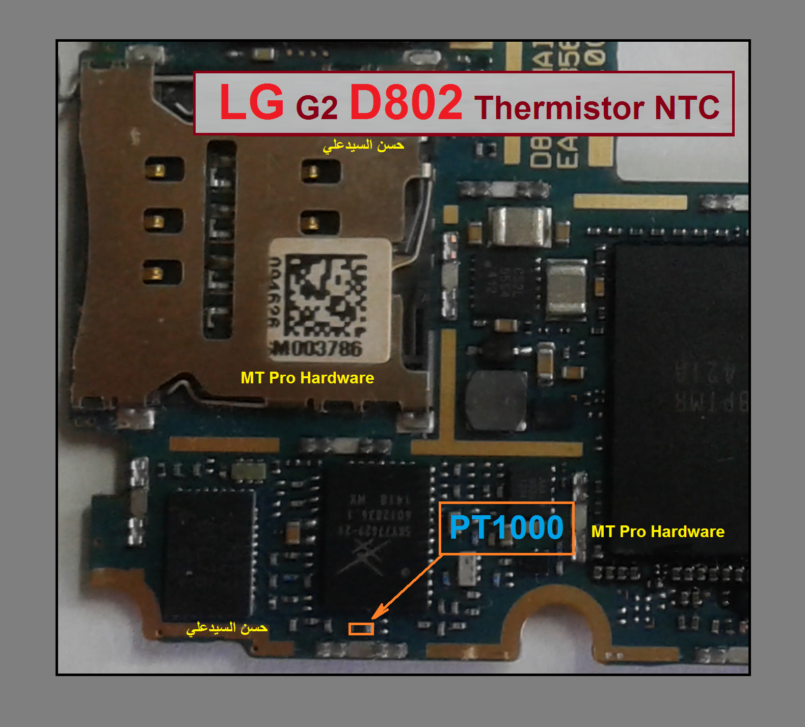 LG G2 D802 Charging Paused Solution Jumpers