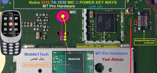 Nokia 3310 (2017) Mic Problem Jumper Solution Ways Microphone Not Working