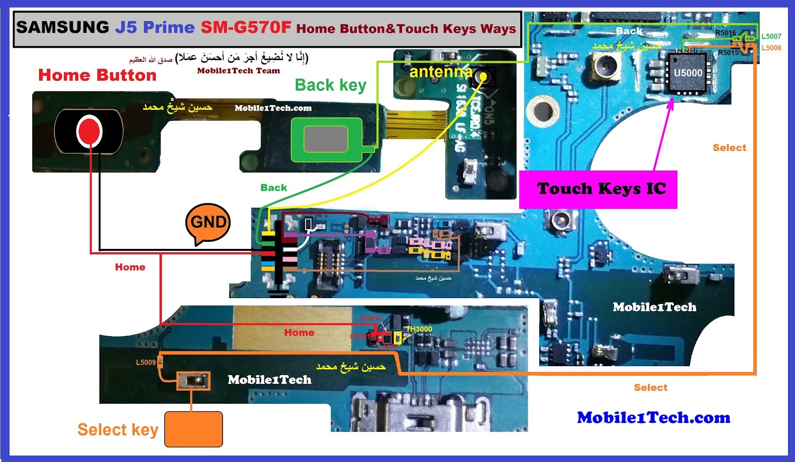Samsung Galaxy J5 Prime Home Key Button Not Working Problem