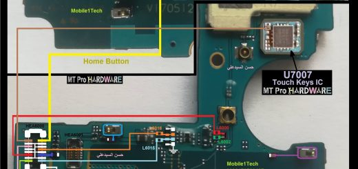 Samsung Galaxy J7 Prime touch screen not working problem solution jumpers