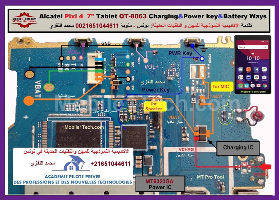 Alcatel Pixi 4 Charging Solution Jumper Problem Ways
