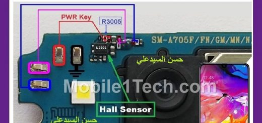 Samsung Galaxy A70 A705F Power Button Solution Jumper Ways