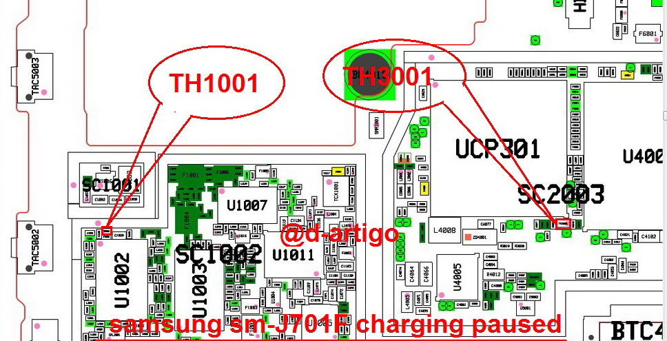 Samsung Galaxy J7 Core J710F Charging Paused Solution Jumpers