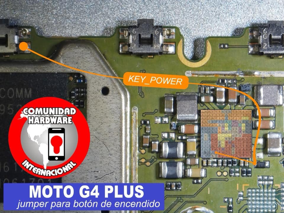 Motorola Moto G4 Plus Power Button Solution Jumper Ways