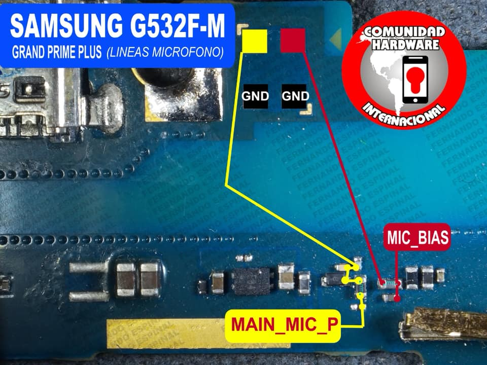 Samsung Galaxy Grand Prime Plus Mic Problem Jumper Solution Ways Microphone Not Working