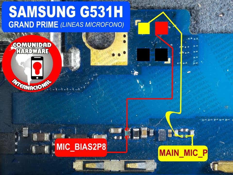 Samsung Galaxy Grand Prime mic problem jumper answer ways microphone not operating