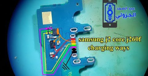 Samsung Galaxy J2 Core J260 Usb Charging Problem Solution Jumper Ways